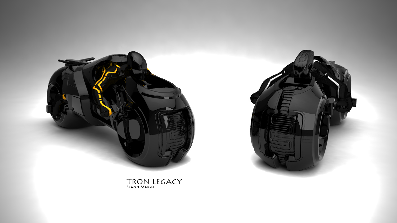 Character sculpts only for Spinmaster Tron Legacy Clu and Sam toy box art